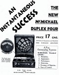 McMichael Advertisement Model Duplex 4S